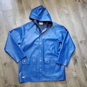 Vintage Charles River Apparel Snap Button Raincoat